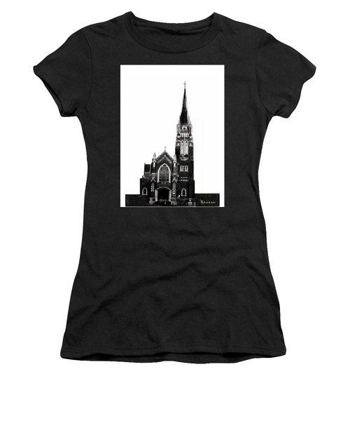 Steeple Chase 1 Women's T-Shirt (Junior Cut) by Sadie Reneau