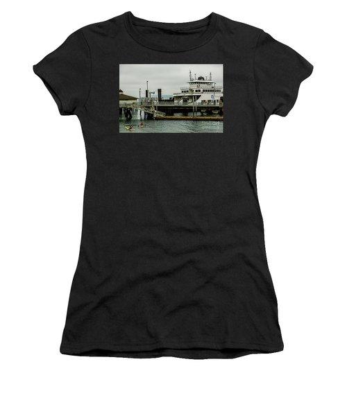 Steilacoom Ferry,washington State Women's T-Shirt