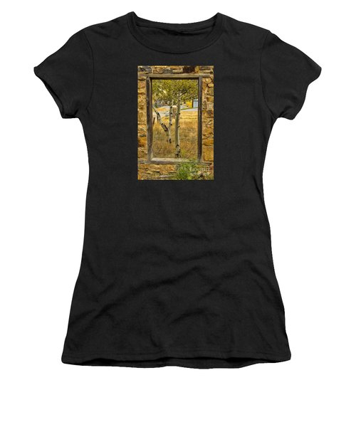 Step Through Women's T-Shirt (Athletic Fit)