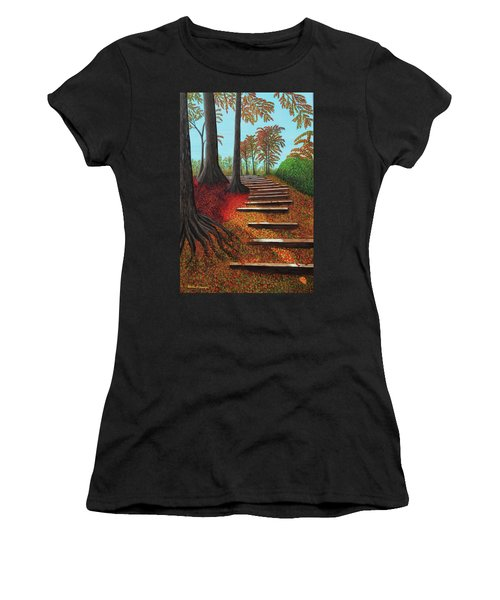 Almost There Women's T-Shirt (Athletic Fit)