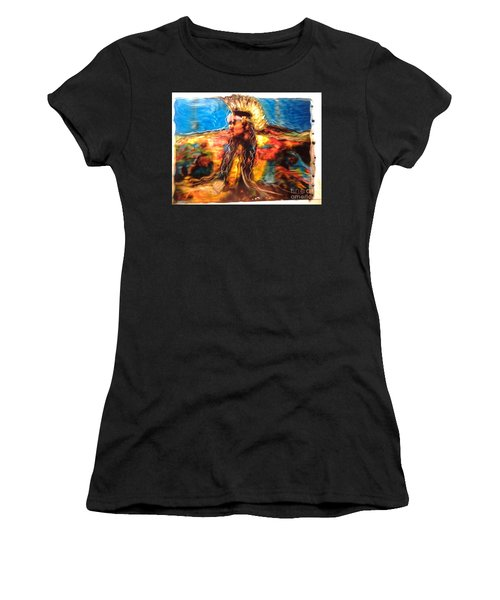 Stepping Into The Soul Women's T-Shirt (Athletic Fit)