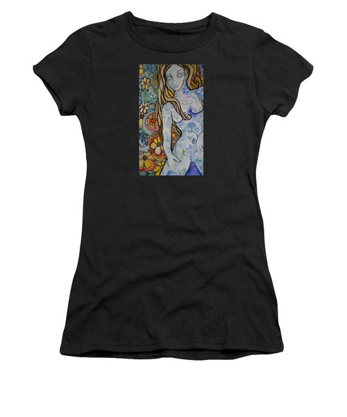 Stepping Out Women's T-Shirt (Athletic Fit)
