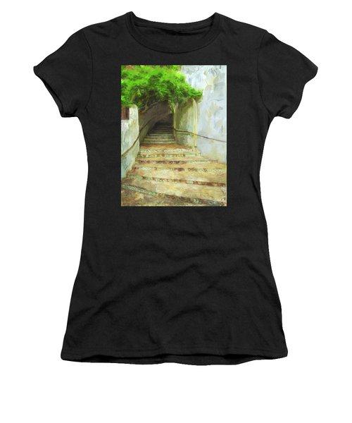 Steps To La Villita Women's T-Shirt (Athletic Fit)