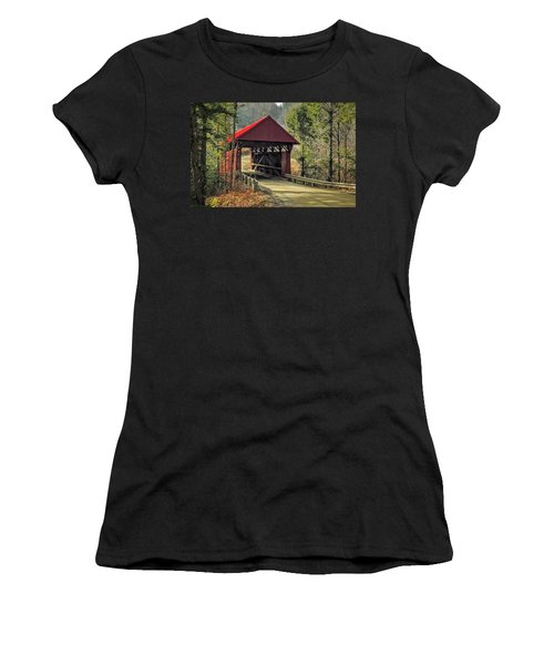 Sterling Covered Bridge Women's T-Shirt (Athletic Fit)