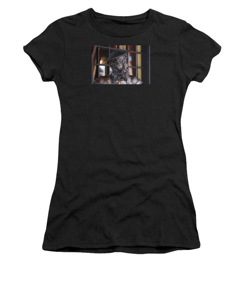 Stern Face Women's T-Shirt (Athletic Fit)