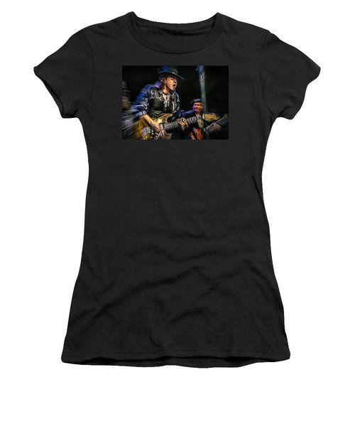 Stevie Ray Vaughan - Couldn't Stand The Weather Women's T-Shirt