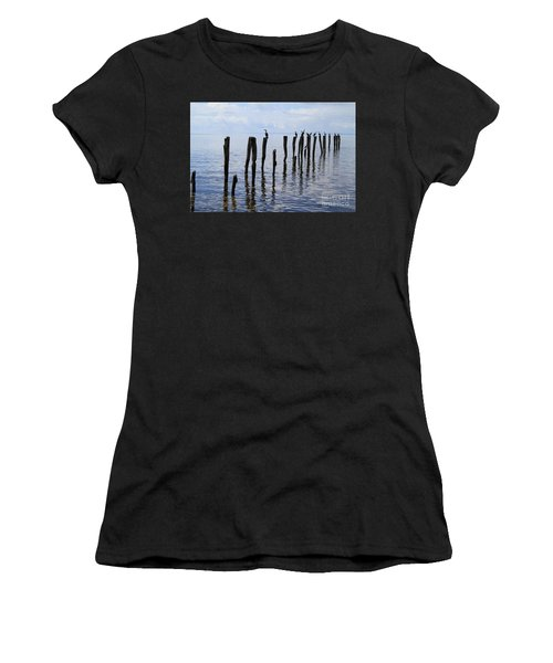 Sticks Out To Sea Women's T-Shirt
