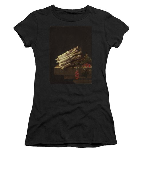 Still Life With Asparagus And Red Currants Women's T-Shirt