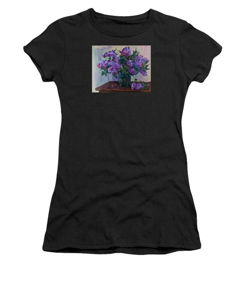 Still Life With Lilac  Women's T-Shirt (Athletic Fit)
