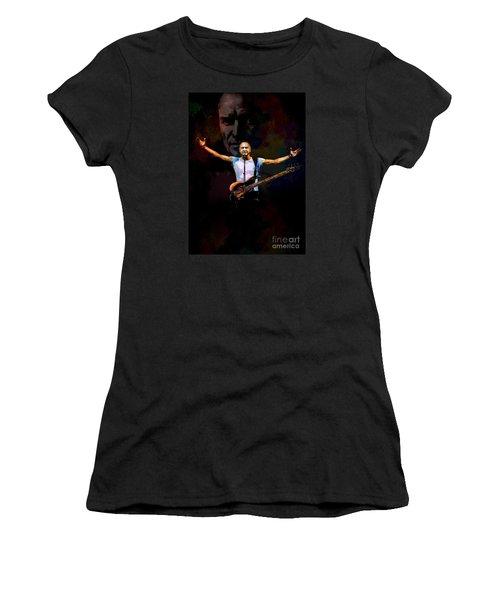 Women's T-Shirt (Junior Cut) featuring the digital art Sting 1 by Andrzej Szczerski