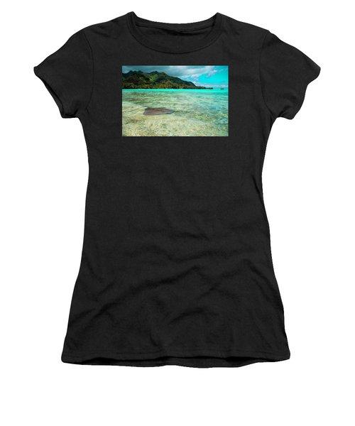 Stingray Women's T-Shirt (Athletic Fit)