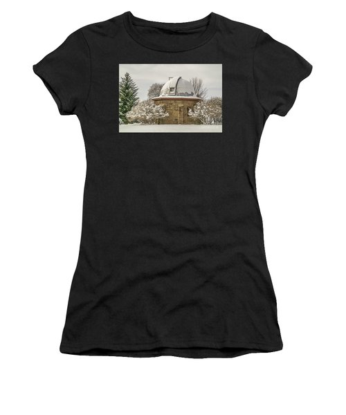 Stone Block Observatory Women's T-Shirt (Athletic Fit)