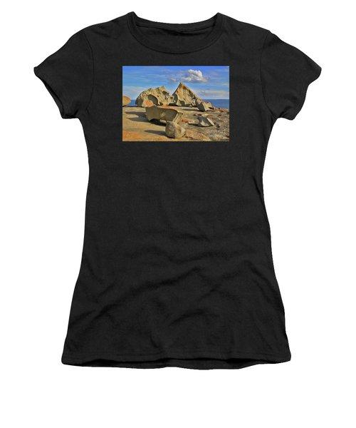 Stone Sculpture Women's T-Shirt
