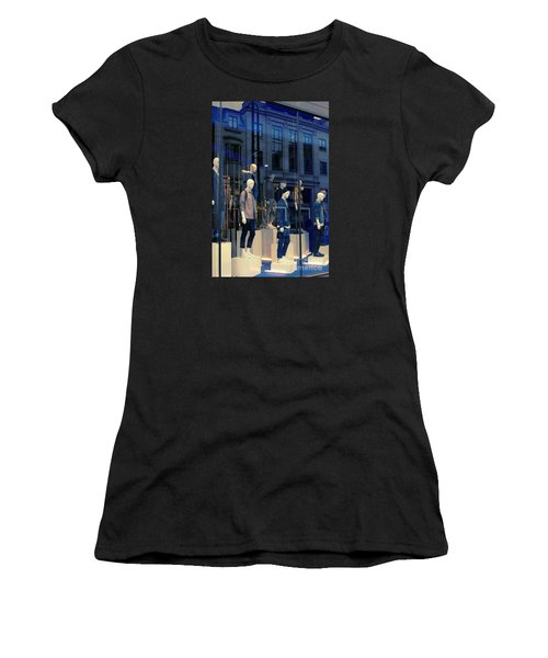 Store Window, London,uk Women's T-Shirt (Athletic Fit)