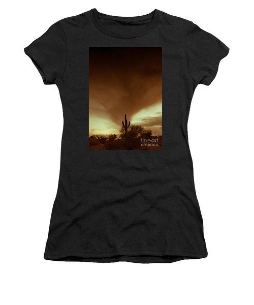 Storm In Sepia Women's T-Shirt