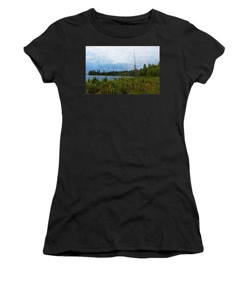 Storm On Raquette Lake Women's T-Shirt