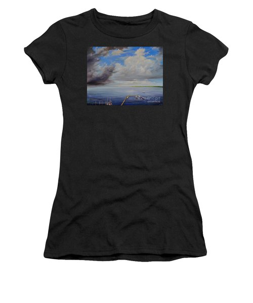 Storm On The Indian River Women's T-Shirt