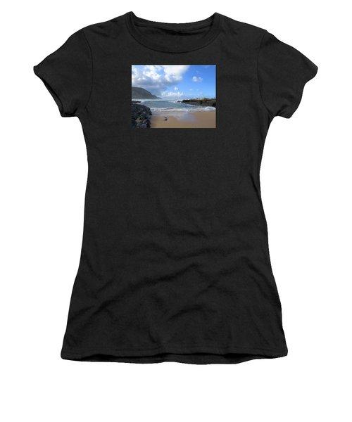 Storm River Beach Women's T-Shirt (Athletic Fit)