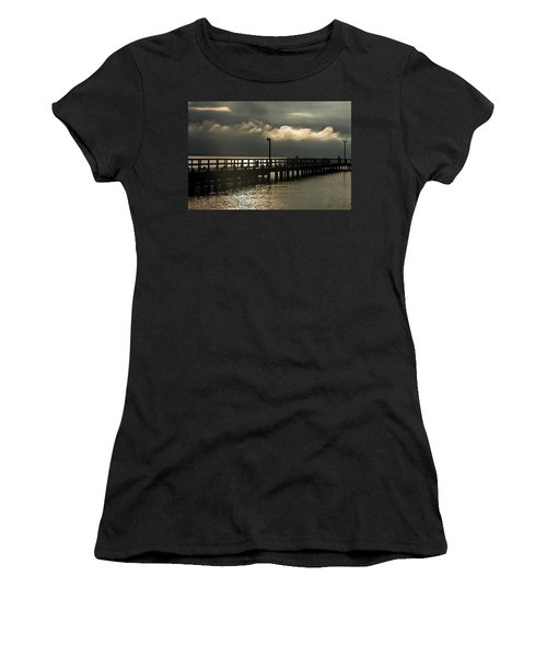Storms Brewin' Women's T-Shirt (Athletic Fit)