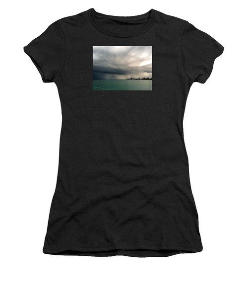 Storms Over Chicago Women's T-Shirt