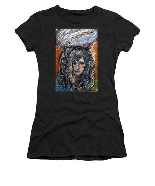 Stormy Day Women's T-Shirt (Athletic Fit)