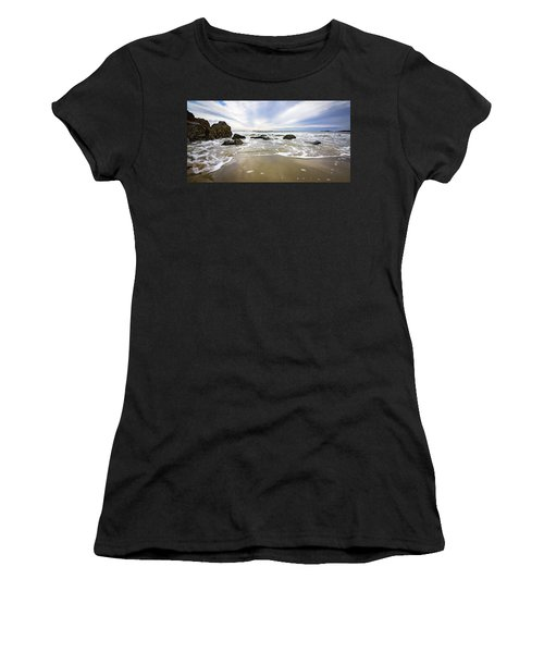 Stormy Maine Morning #1 Women's T-Shirt (Athletic Fit)
