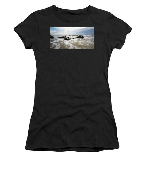 Stormy Maine Morning #3 Women's T-Shirt