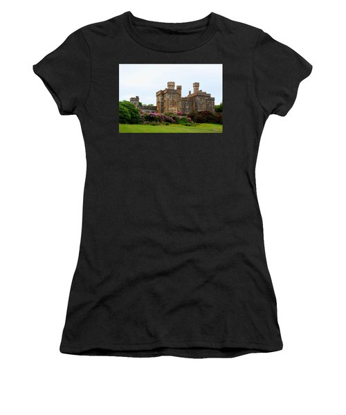 Women's T-Shirt (Athletic Fit) featuring the photograph Stornoway Castle by Rasma Bertz