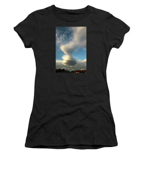 Strange Cloudform Women's T-Shirt (Athletic Fit)