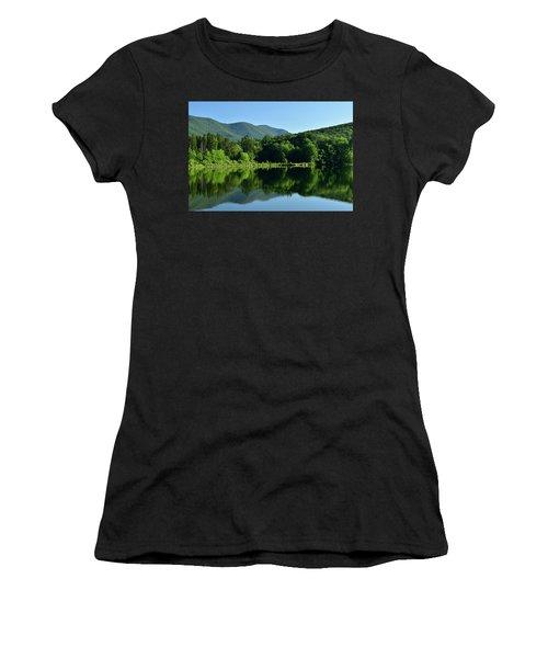 Streak Of Light At The Lake Women's T-Shirt