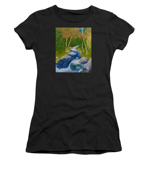 Stream Two Women's T-Shirt (Athletic Fit)