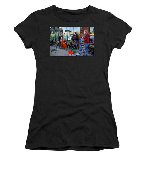 Street Band Women's T-Shirt (Athletic Fit)