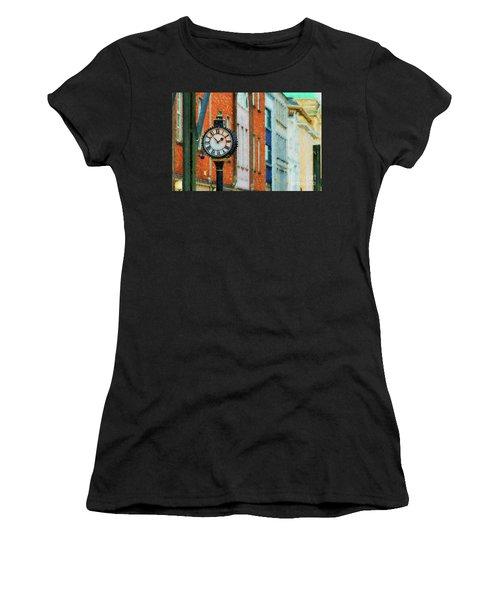 Street Clock In Cork Women's T-Shirt