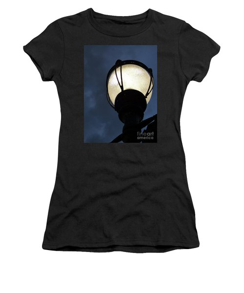 Street Lamp At Night Women's T-Shirt (Athletic Fit)