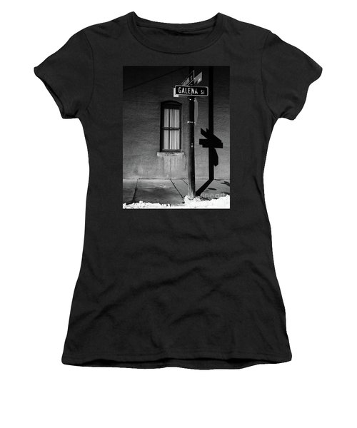 Street Sign In Butte Women's T-Shirt
