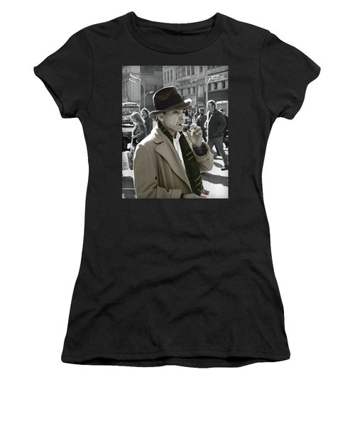 Street Smoking Man Women's T-Shirt