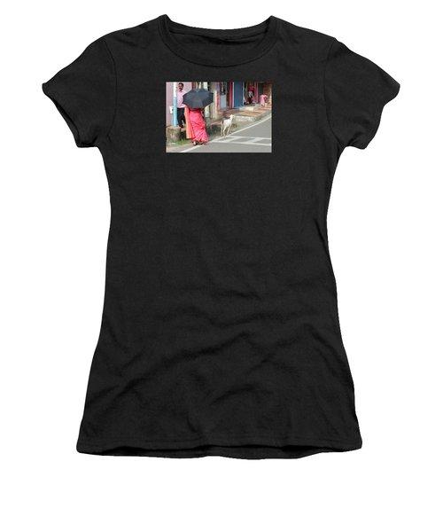 Streets Of Kochi Women's T-Shirt (Junior Cut) by Jennifer Mazzucco