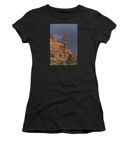 Stretching Into A Threatening Sky Women's T-Shirt (Athletic Fit)