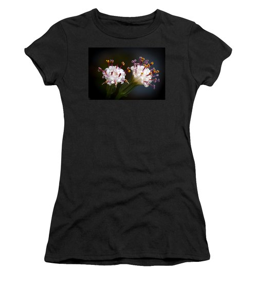 String Of Pearl Succulent Flowers Women's T-Shirt (Athletic Fit)