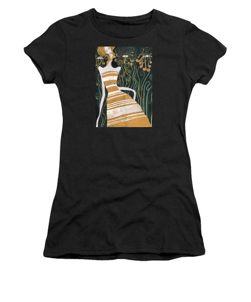Stripe Dress Women's T-Shirt