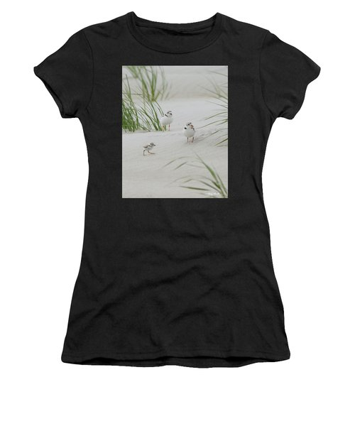 Struggle In The Blowing Sand Women's T-Shirt