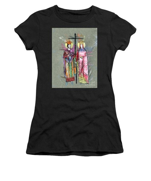 Sts. Constantine And Helen Women's T-Shirt