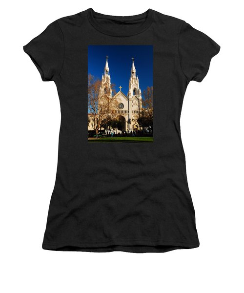Sts Peter And Paul Women's T-Shirt (Junior Cut)