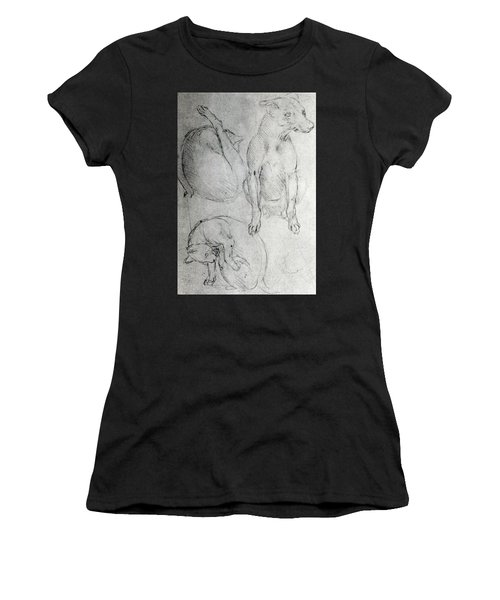 Study Of A Dog And A Cat Women's T-Shirt