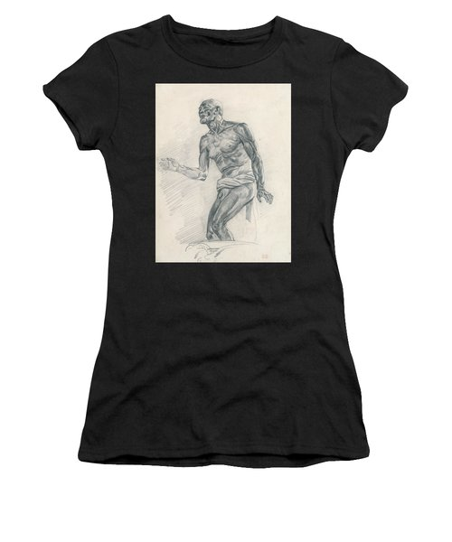 Study Of A Male Nude Study For The Death Of Seneca Women's T-Shirt