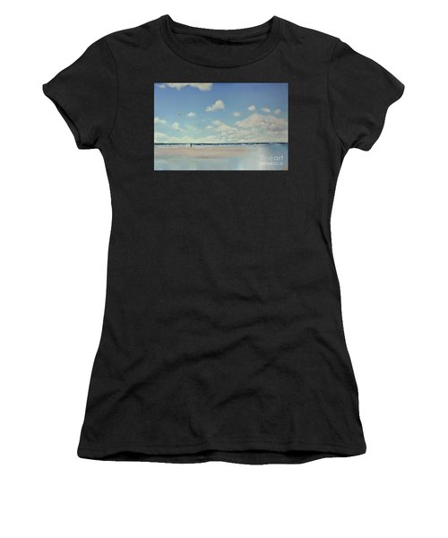 Study Of Blue Nr 1 Women's T-Shirt (Athletic Fit)