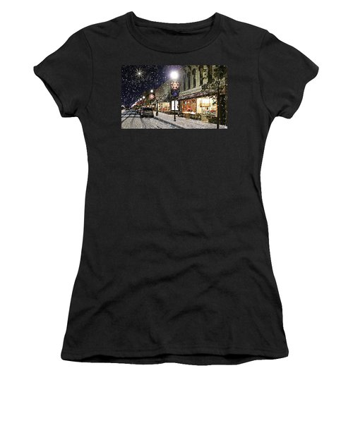 Sturgeon Bay On A Magical Night Women's T-Shirt