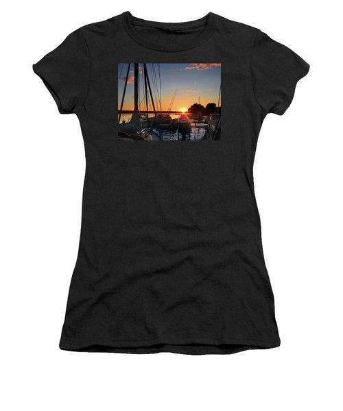 Sturgeon Bay Sunset Women's T-Shirt
