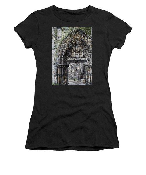 Subtle Shades Of Stone Holyrood Edinburgh Scotland Women's T-Shirt (Athletic Fit)