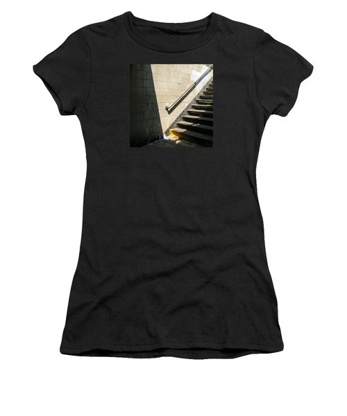 Subway Stairs Women's T-Shirt (Athletic Fit)